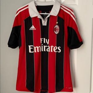 Adidas Ac Milan El Shaarawy #92 Sz small jersey